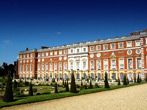 The East Front at Hampton Court Palace