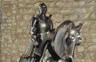 Silver and engraved armour belonging to Henry VIII