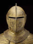 Gilt armour of King Charles I