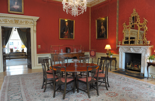 Red Dining Room, Hillsborough Castle