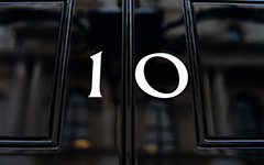 Number 10 Downing Street (C) MOD Crown Copyright