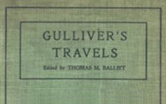 Front cover of Gulliver's Travels