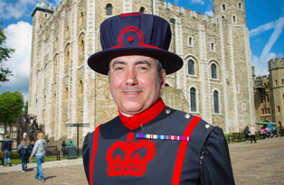 John Donald, Yeoman Warder at the Tower