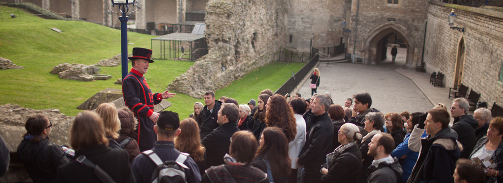 A Yeoman Warder tour at the Tower of London