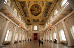 Interior of Banqueting House, Whitehall