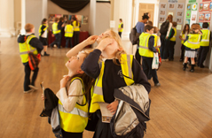 A school visit at Banqueting House