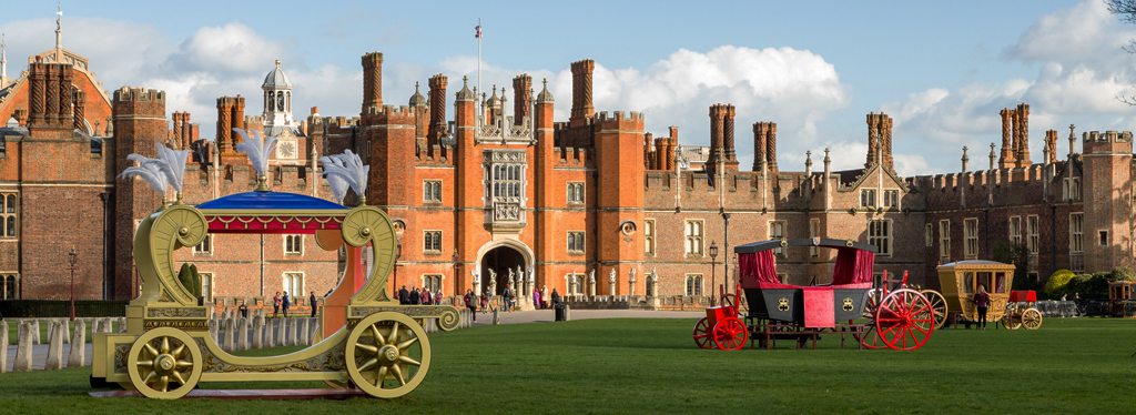 West front of Hampton Court Palace