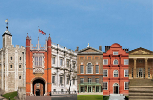 All six palaces looked after by Historic Royal Palaces