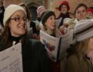 Carol singing at Hampton Court Palace
