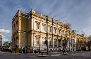 The exterior of the Banqueting House copyright Miles Willis