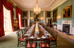State Dining Room at Hillsborough Castle
