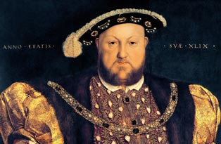 Henry VIII comes to power