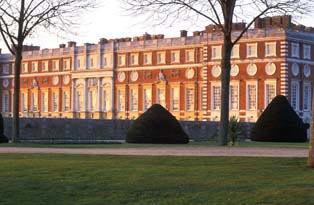 The South Front at Hampton Court Palace