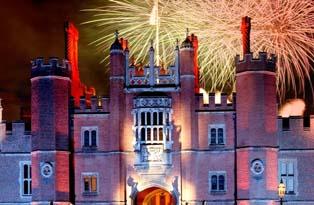 Fireworks at Hampton Court Palace