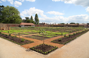 Kitchen Garden at Hampton Court Palace