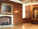 The linenfold panelled Wolsey Rooms at Hampton Court