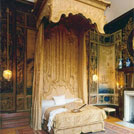 Queen Caroline's private bed