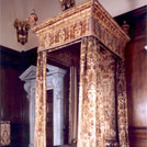 Queen Anne's state bed