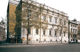The exterior of the Banqueting House