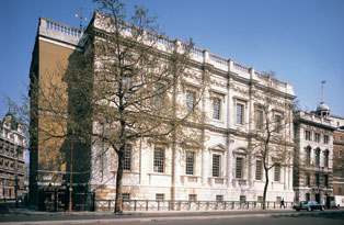 The outside of the Banqueting House