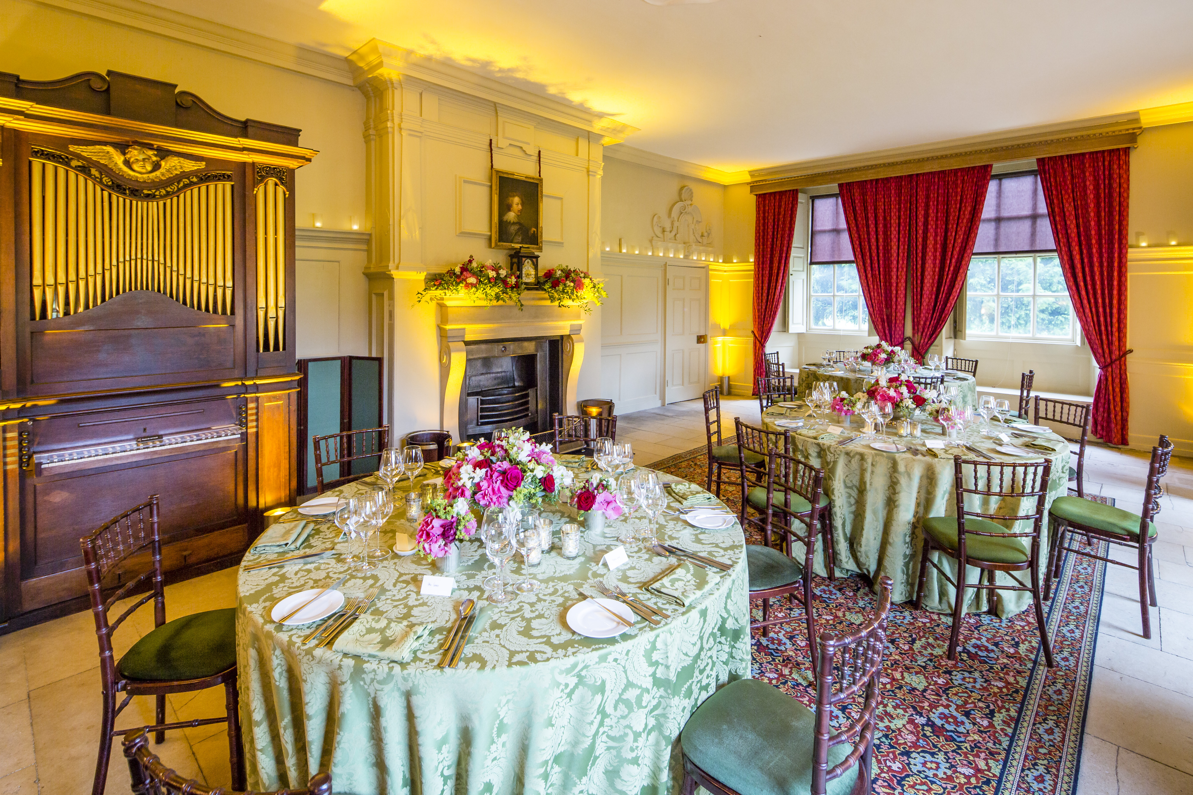 Kew Palace - The King's Dining Room