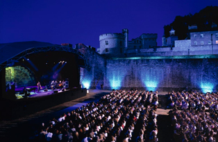 A large-scale event at the Tower of London