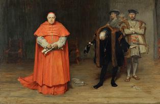 Henry VIII and Thomas Wolsey