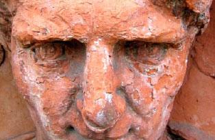 Terracotta roundels
