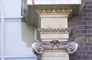 External architecture detail