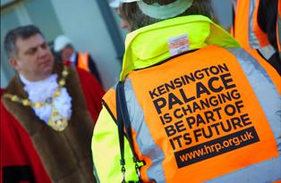 Mayor visits Kensington Palace February 2011