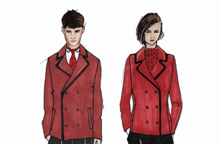 Jaeger's designs for KP warders uniforms from 2012