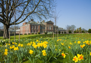 Image of new gardens for Kensington Palace in 2012