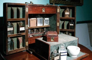 Medicine cabinet in the dolls house