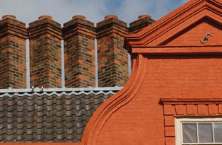 Kew Palace roof