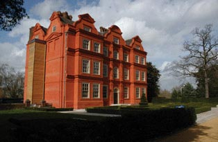 Conservation at Kew Palace