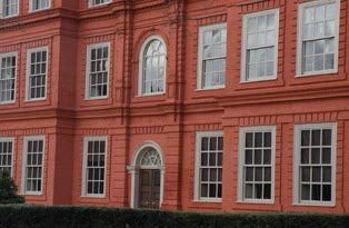 exterior of Kew Palace
