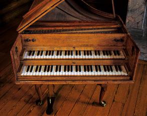 Kew Palace harpsichord