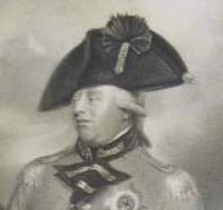 Detail from George III print by Smith