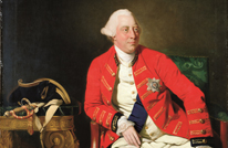 George III portrait by Zoffany