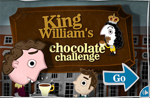 Chocolate challenge game