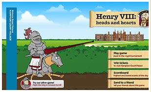 Joust with Henry VIII game