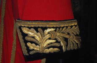 18th century court suit