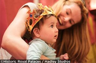 Tinies at Kensington Palace