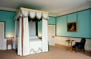 A bedroom at Kew Palace
