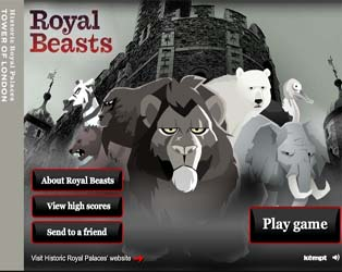 Meet the Royal Beasts game