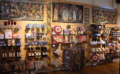 Barack Block shop at Hampton Court Palace