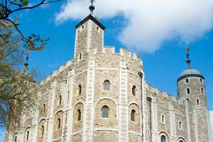 Work begins on the White Tower