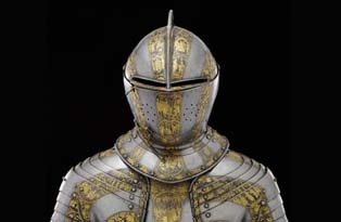 Boy's armour belonging to Henry Prince of Wales in about 1607