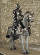 Silver and engraved armour of Henry VIII, about 1515