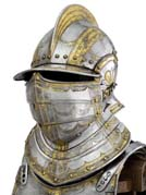 Field armour of William Somerset Earl of Worcester about 1570